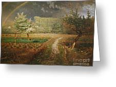 Spring At Barbizon Greeting Card by Jean Francois Millet