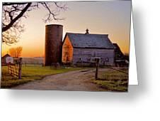Spring At Birch Barn Greeting Card