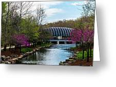 Spring At Crystal Bridges Greeting Card