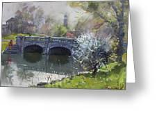Spring At Delaware Lake Buffalo Greeting Card