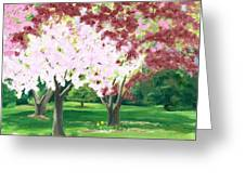 Spring At Osage Land Trust Greeting Card