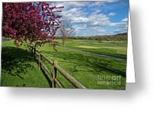 Spring At Rivercut Greeting Card