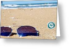 Spring At The Beach Greeting Card