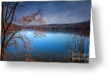 Spring At The Lake Greeting Card