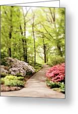 Spring Azaleas  Greeting Card