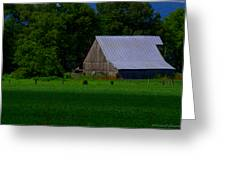 Spring Barn Greeting Card