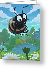 Spring Bee Greeting Card