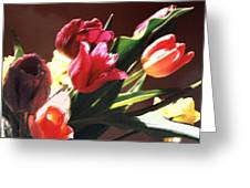 Spring Bouquet Greeting Card by Steve Karol