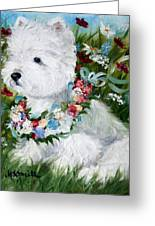Spring Breezes Greeting Card