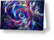 Spring Caught In The Maelstrom Greeting Card