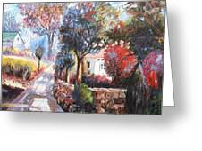 Spring Colors Greeting Card