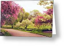 Spring Crescendo Greeting Card