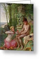 Spring, Daphnis And Chloe Greeting Card
