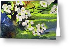 Spring Dogwoods Greeting Card