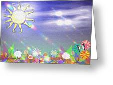Spring Exp.2 Greeting Card