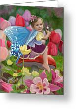 Spring Fairy Greeting Card