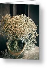 Spring Flower Arrangement Greeting Card