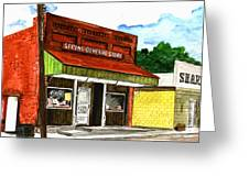 Spring General Store Sharpsburgh Iowa Greeting Card