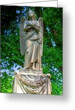 Spring Grove Angel Statue Greeting Card