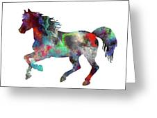 Spring Horse 2 Greeting Card