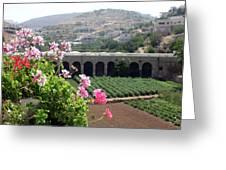 Spring In Bethlehem Greeting Card