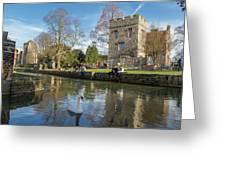 Spring In Canterbury Greeting Card