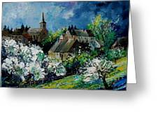 Spring In Fays Famenne Greeting Card