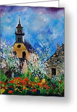 Spring In Foy Notre Dame Dinant Greeting Card