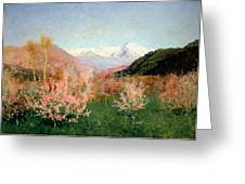 Spring In Italy Greeting Card