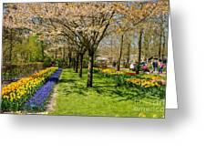 Spring In Keukenhof, Netherlands Greeting Card