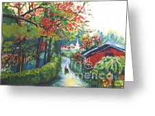 Spring In Southern China Greeting Card