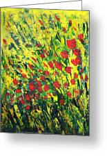 Spring In The Air Greeting Card