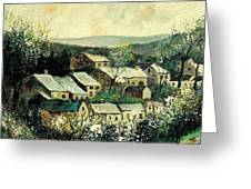 Spring In The Ardennes Belgium Greeting Card