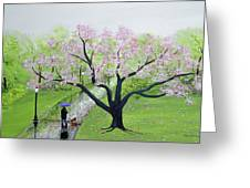 Spring In The Park Greeting Card