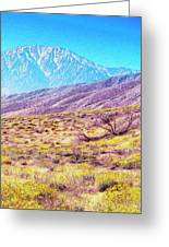 Spring In Whitewater Canyon Greeting Card