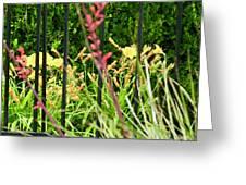 Spring Jumble Greeting Card