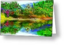 Spring Lake Greeting Card