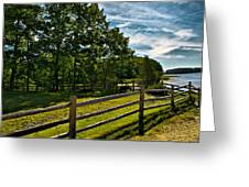 Spring Landscape In Nh 2 Greeting Card