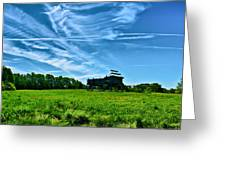 Spring Landscape In Nh 4 Greeting Card
