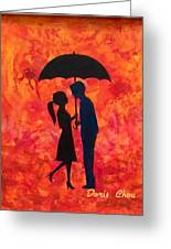 Sizzling Love Greeting Card