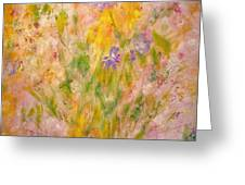 Spring Meadow Greeting Card