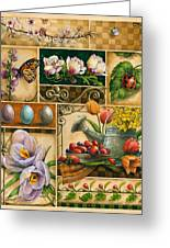 Spring Montage Greeting Card