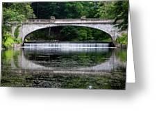 Spring Morning At White Bridge II Greeting Card