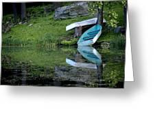 Spring On The Lake Greeting Card