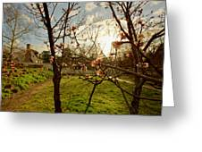 Spring Orchard In Williamsburg Greeting Card