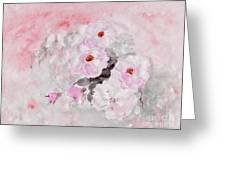 spring party Healing roses -22 Greeting Card