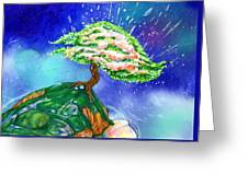 Spring Pods Greeting Card