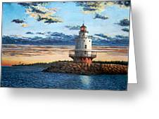 Spring Point Lighthouse Greeting Card