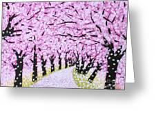 Spring Road  Greeting Card