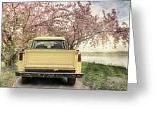 Spring Scenery Greeting Card